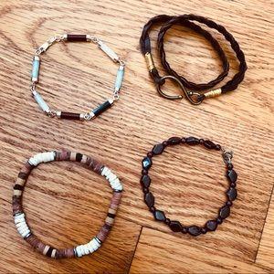 Four Unique Bracelets